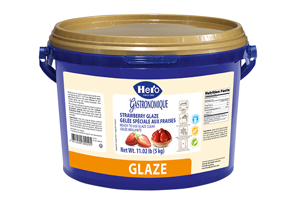 Hero Strawberry Glaze 5kg