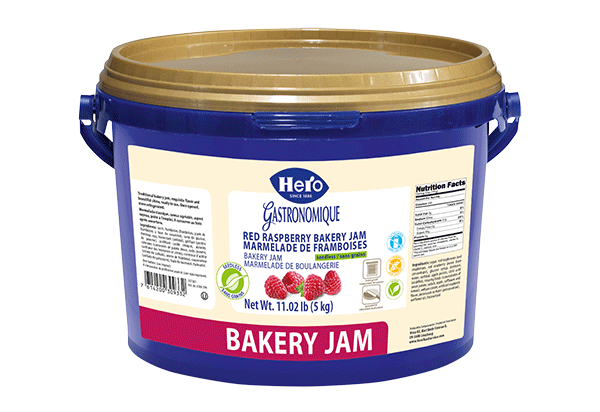 Hero Raspberry baking jam without seeds 5kg