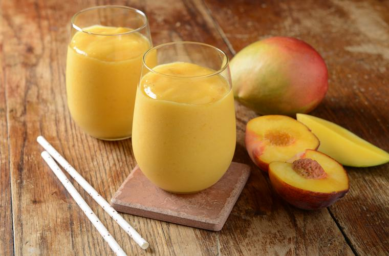 Mango - Peach Smoothie