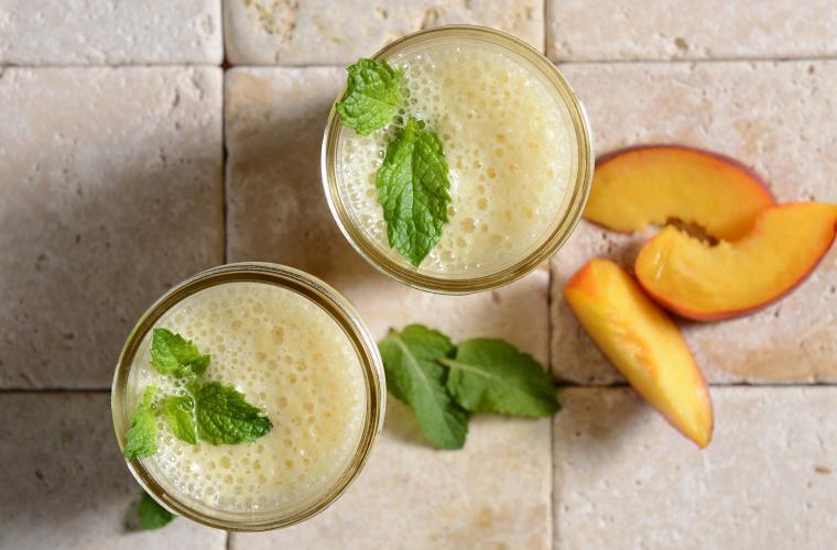 Peach - Pineapple Smoothie